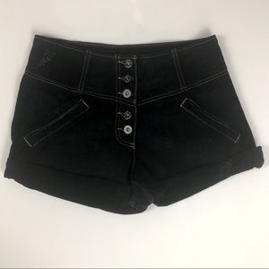 Carmar Dark Wash Jean Shorts (26)